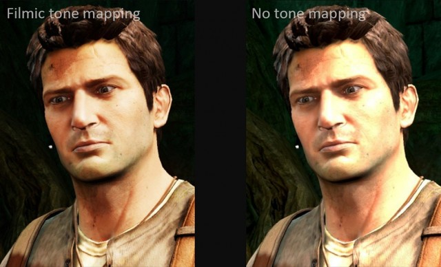 filmic tone mapping john hable uncharted 2